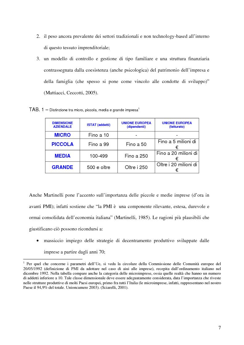 Anteprima della tesi: Aspetti distributivi e pianificazione di marketing nelle Pmi del comparto alimentare: il caso Gessyca Gelati, Pagina 4