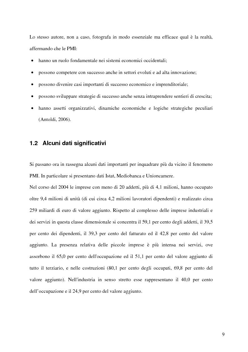 Anteprima della tesi: Aspetti distributivi e pianificazione di marketing nelle Pmi del comparto alimentare: il caso Gessyca Gelati, Pagina 6