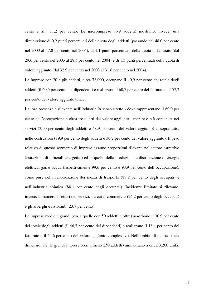 Anteprima della tesi: Aspetti distributivi e pianificazione di marketing nelle Pmi del comparto alimentare: il caso Gessyca Gelati, Pagina 8