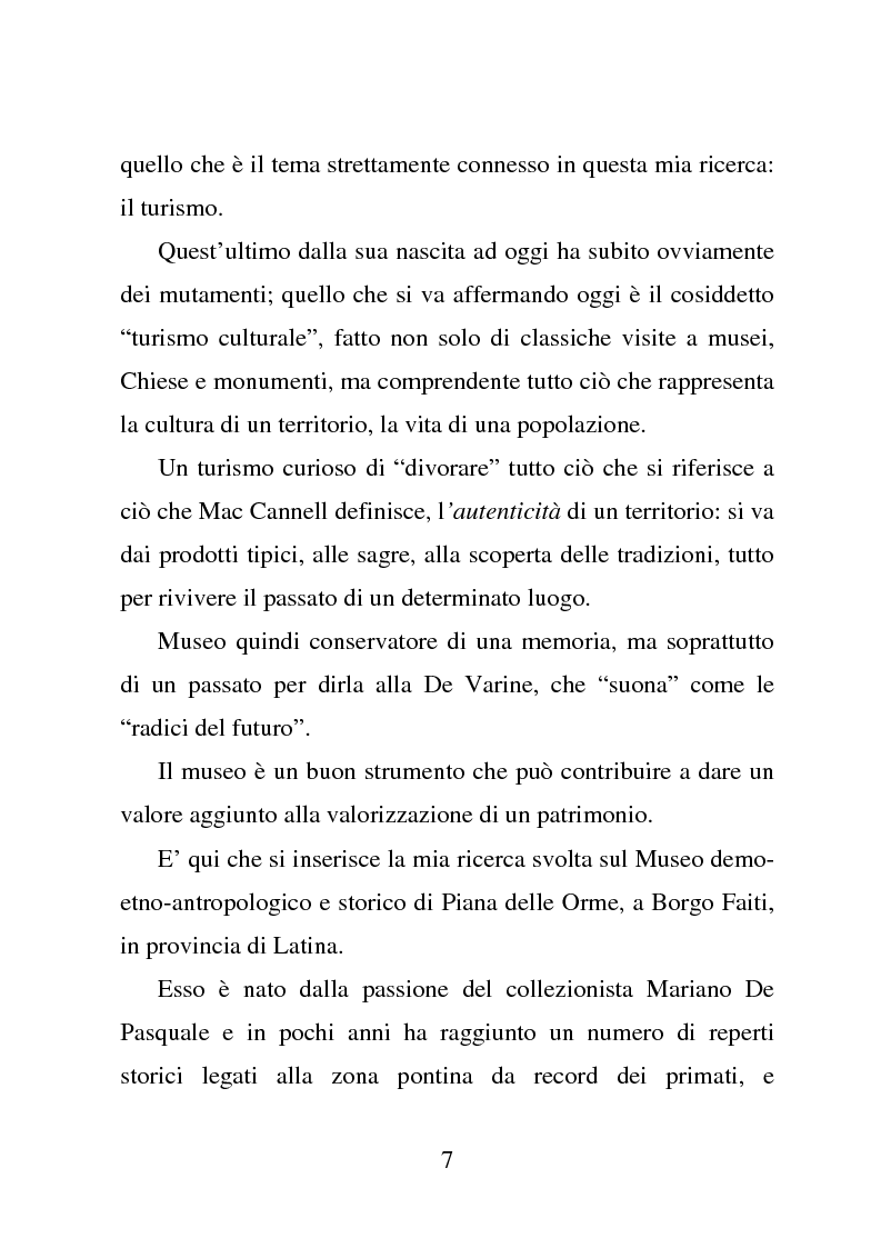Anteprima della tesi: Piana delle Orme tra antropologia e storia: come si comunica il patrimonio, Pagina 2