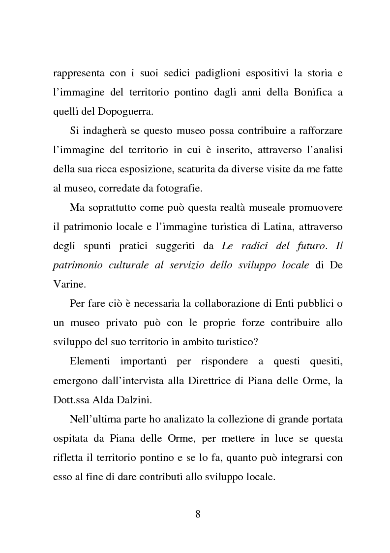 Anteprima della tesi: Piana delle Orme tra antropologia e storia: come si comunica il patrimonio, Pagina 3