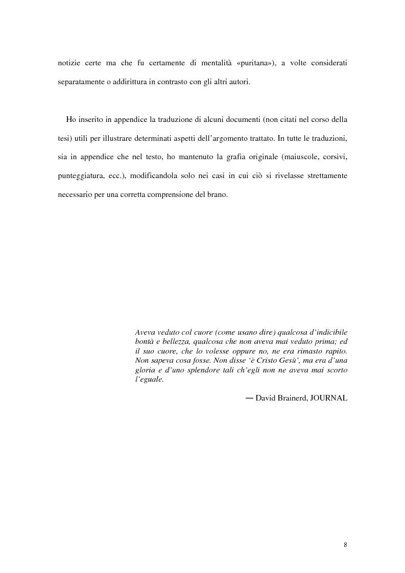 Anteprima della tesi: L'interpretazione dell'«altro» nei Puritani del Nuovo Mondo. Coloni e missionari di fronte al «selvaggio», 1620-1758., Pagina 4