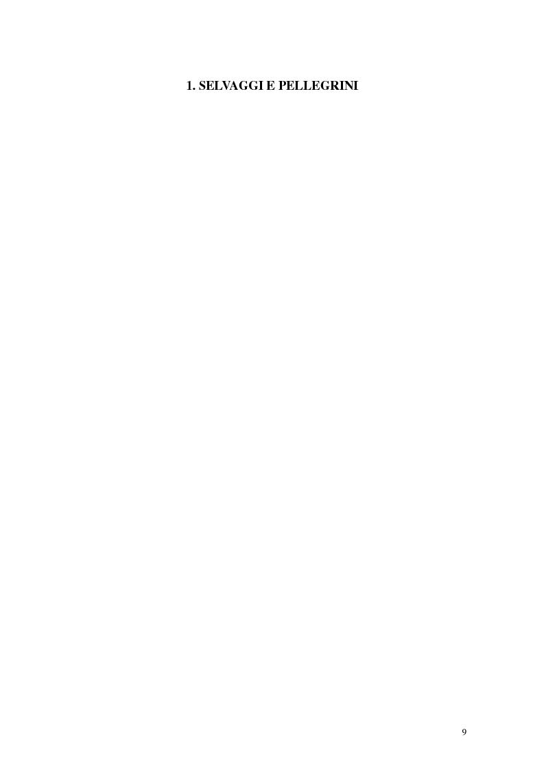 Anteprima della tesi: L'interpretazione dell'«altro» nei Puritani del Nuovo Mondo. Coloni e missionari di fronte al «selvaggio», 1620-1758., Pagina 5