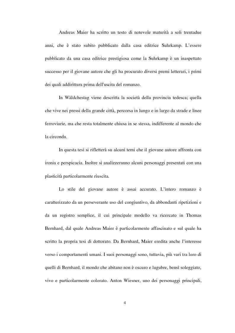Anteprima della tesi: Il Wäldchestag di Andreas Maier, Pagina 2