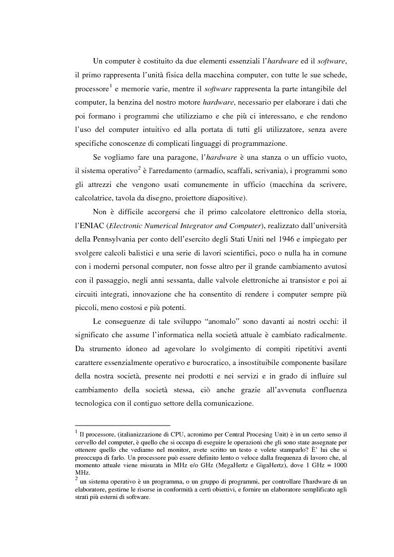 Anteprima della tesi: Il Nuovo mercato: Aspetti giuridici dell'e-commerce, Pagina 3