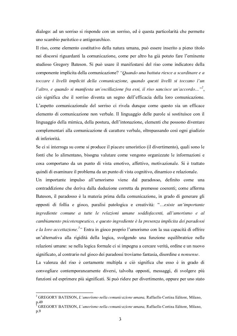 Anteprima della tesi: ''Risus abundant in ore... sapientium''. L'efficacia dell'umorismo dalla performance al contesto educativo., Pagina 2