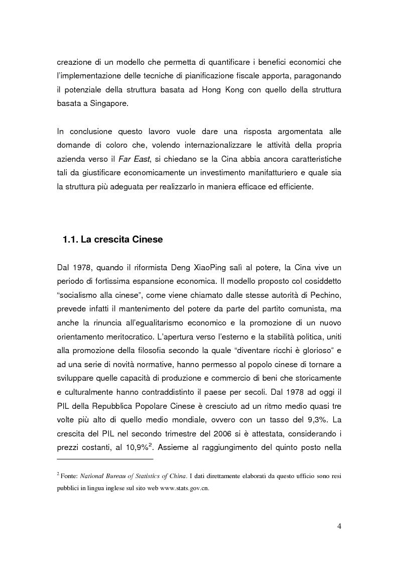 Anteprima della tesi: Pianificazione fiscale e strategie di crescita internazionale: imprese italiane nel Far East, Pagina 2