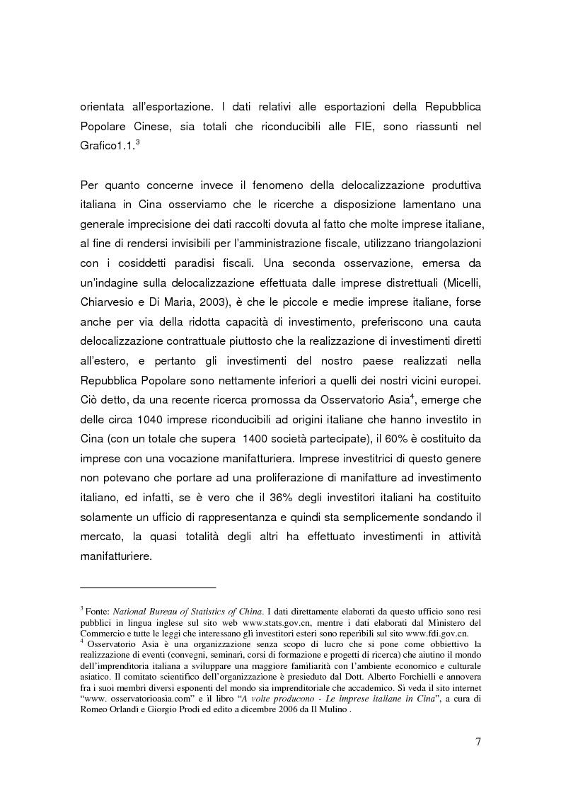 Anteprima della tesi: Pianificazione fiscale e strategie di crescita internazionale: imprese italiane nel Far East, Pagina 5