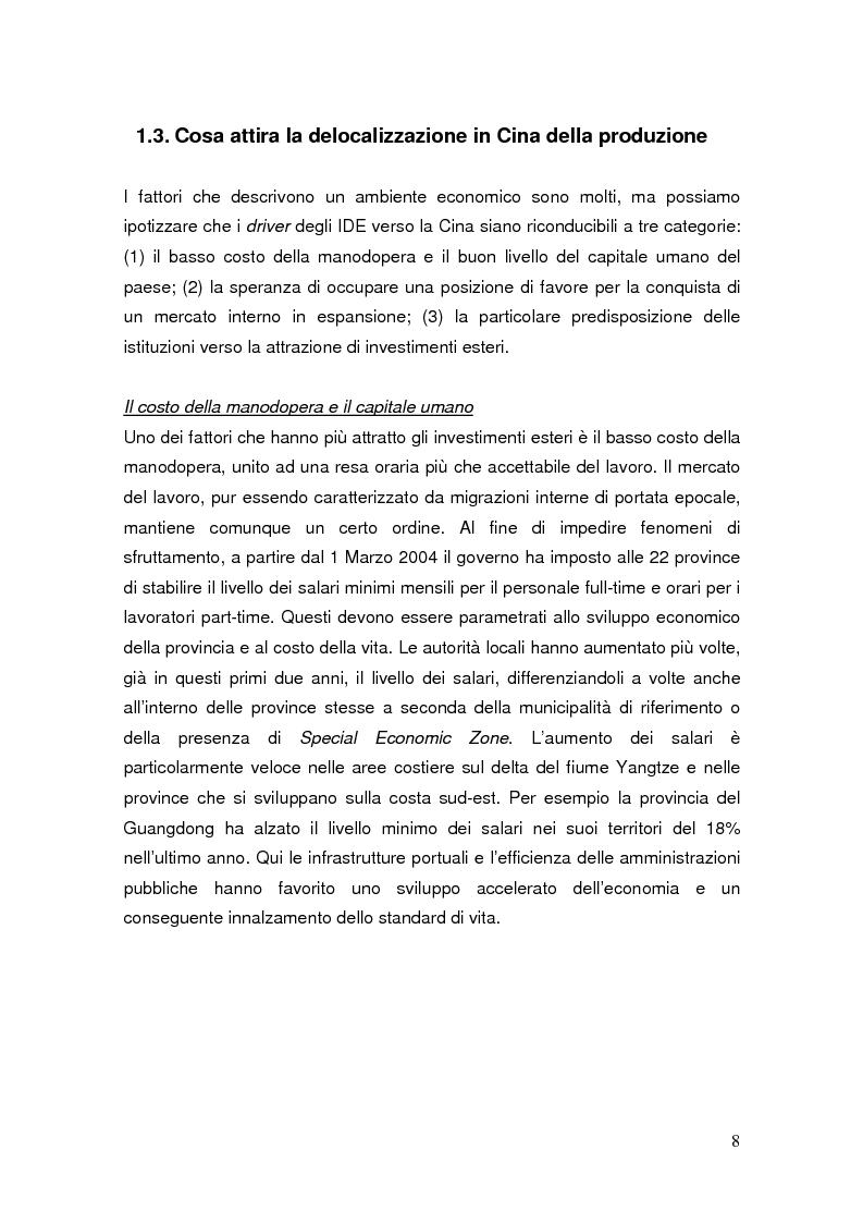 Anteprima della tesi: Pianificazione fiscale e strategie di crescita internazionale: imprese italiane nel Far East, Pagina 6