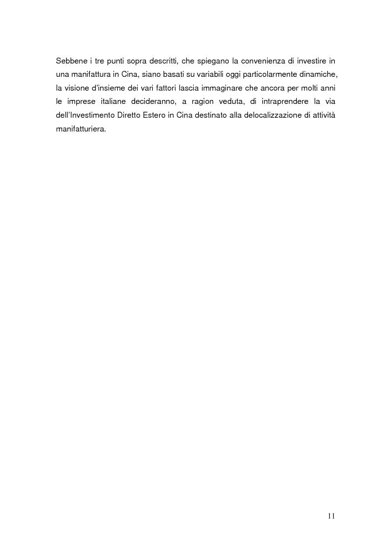 Anteprima della tesi: Pianificazione fiscale e strategie di crescita internazionale: imprese italiane nel Far East, Pagina 9