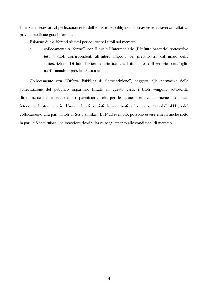 Anteprima della tesi: I Prestiti Obbligazionari degli Enti Locali, Pagina 4