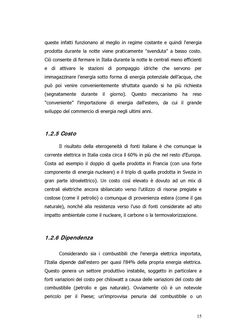 Anteprima della tesi: Valorizzazione energetica di biomassa in un impianto a celle a combustibile, Pagina 11