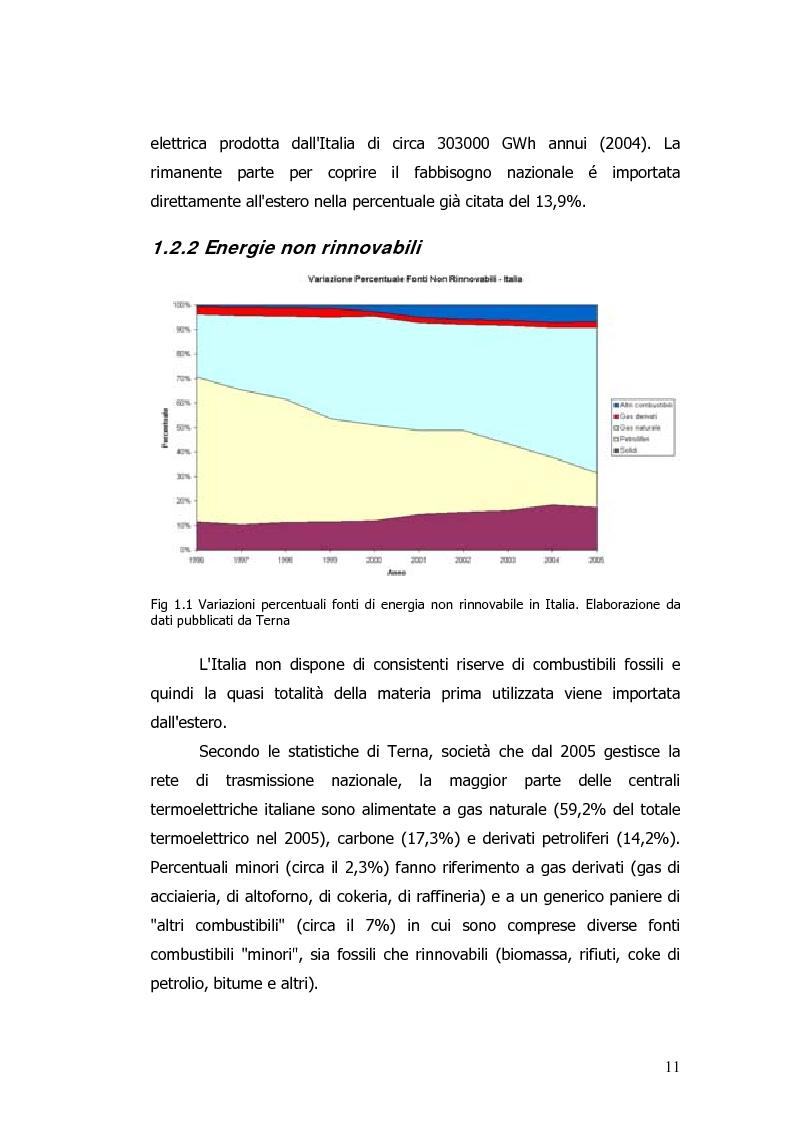 Anteprima della tesi: Valorizzazione energetica di biomassa in un impianto a celle a combustibile, Pagina 7