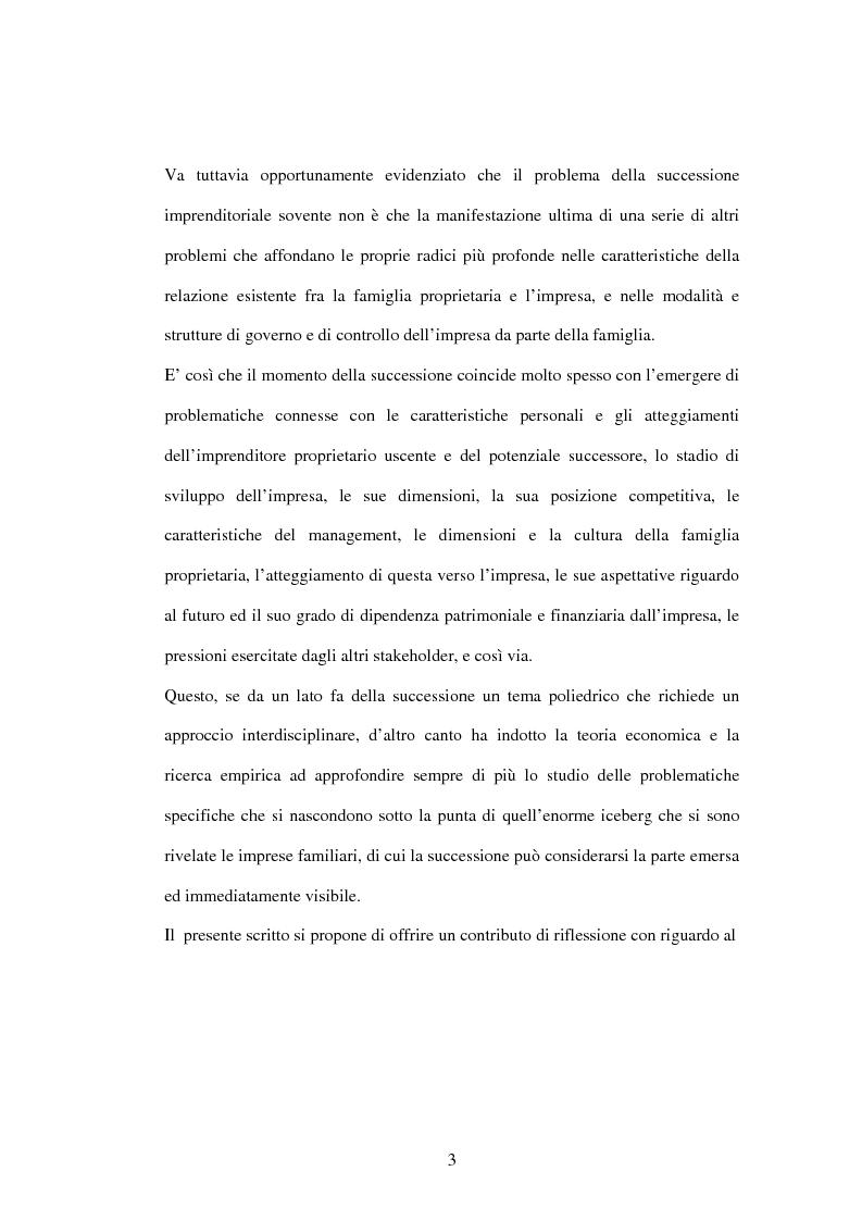 Anteprima della tesi: L'impresa familiare nel settore armatoriale: processi di successione e corporate governance, Pagina 3