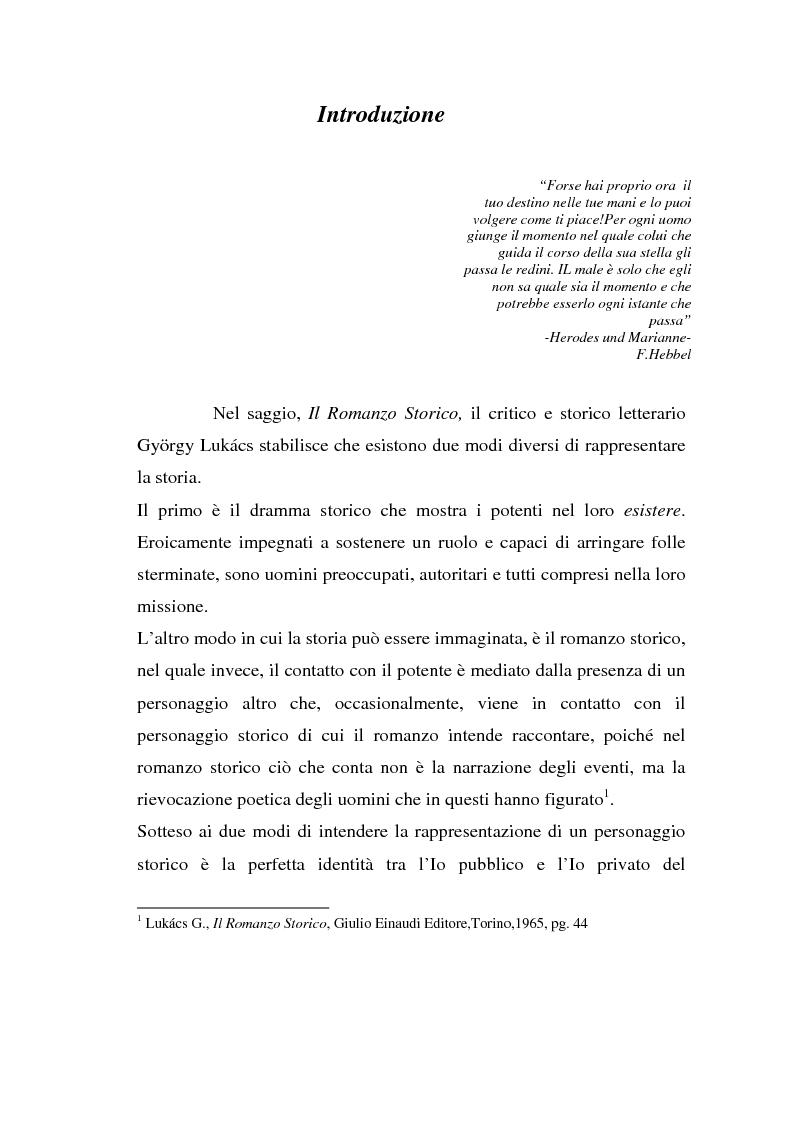 Anteprima della tesi: Moloch, Taurus, Il Sole. Trilogia sul potere di A. Sokurov tra declino storico e declino esistenziale, Pagina 1