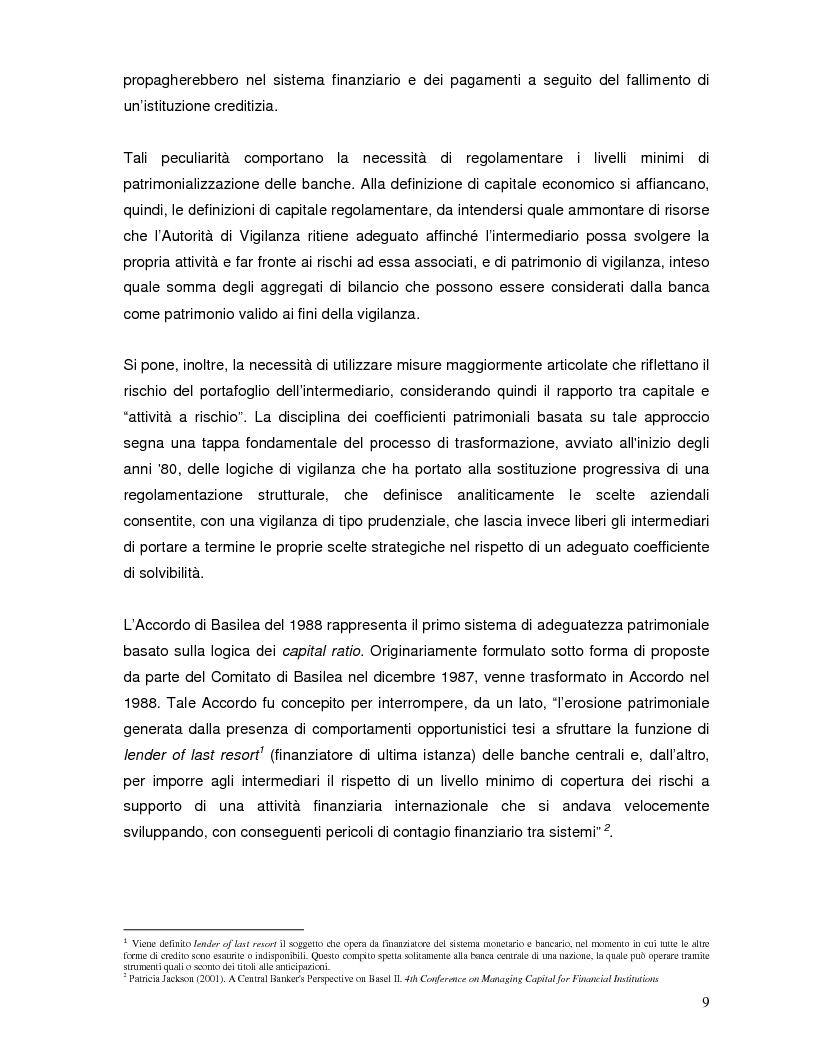 Anteprima della tesi: L'impatto di Basilea 2 sul private equity, Pagina 5