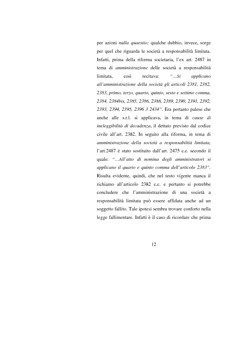 Anteprima della tesi: Potenzialità e criticità dei sistemi di corporate governance dopo la riforma societaria, Pagina 10