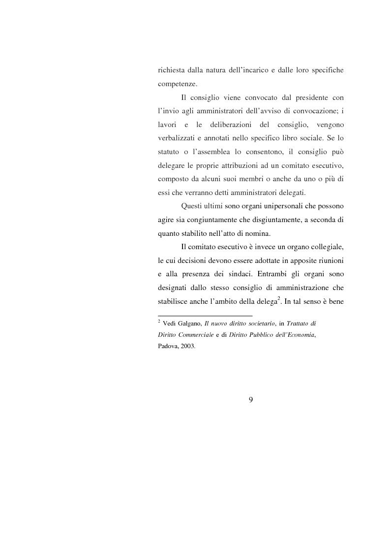 Anteprima della tesi: Potenzialità e criticità dei sistemi di corporate governance dopo la riforma societaria, Pagina 7