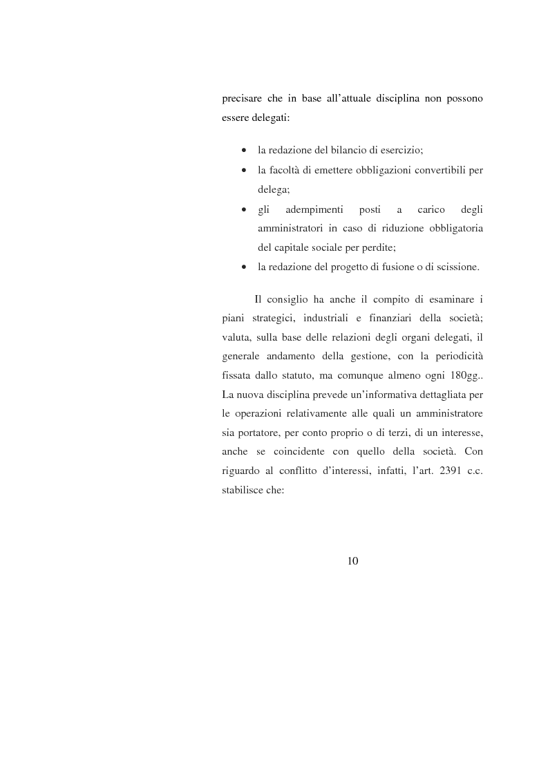 Anteprima della tesi: Potenzialità e criticità dei sistemi di corporate governance dopo la riforma societaria, Pagina 8