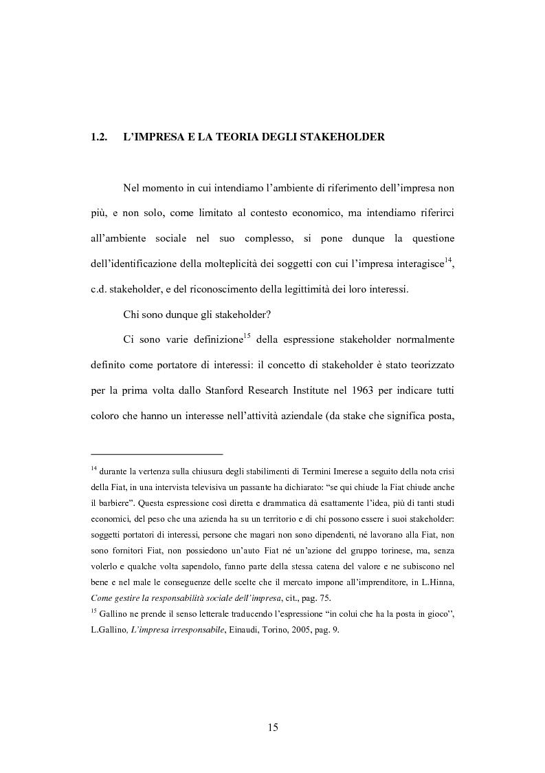 Anteprima della tesi: La comunicazione volontaria nelle società quotate. Aspetti teorici ed evidenze empiriche, Pagina 10