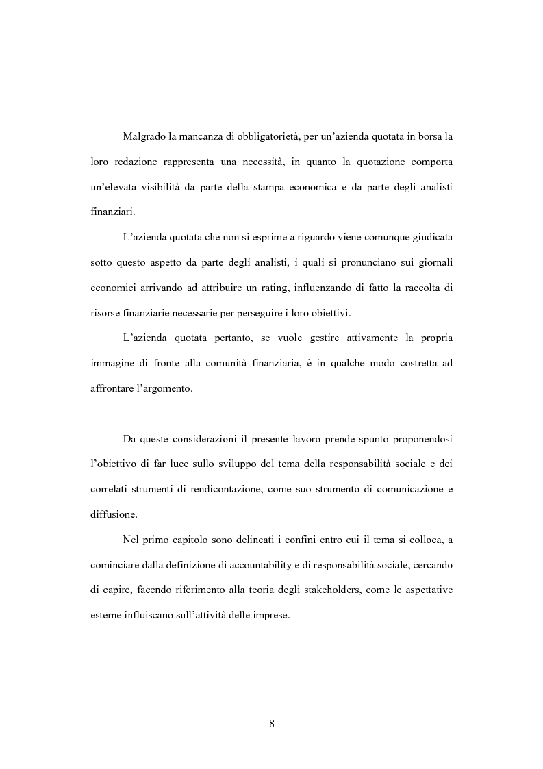 Anteprima della tesi: La comunicazione volontaria nelle società quotate. Aspetti teorici ed evidenze empiriche, Pagina 3