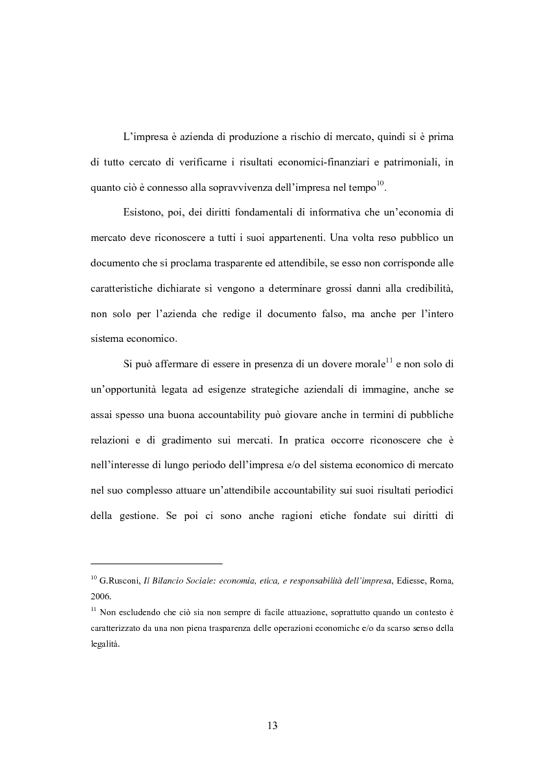 Anteprima della tesi: La comunicazione volontaria nelle società quotate. Aspetti teorici ed evidenze empiriche, Pagina 8