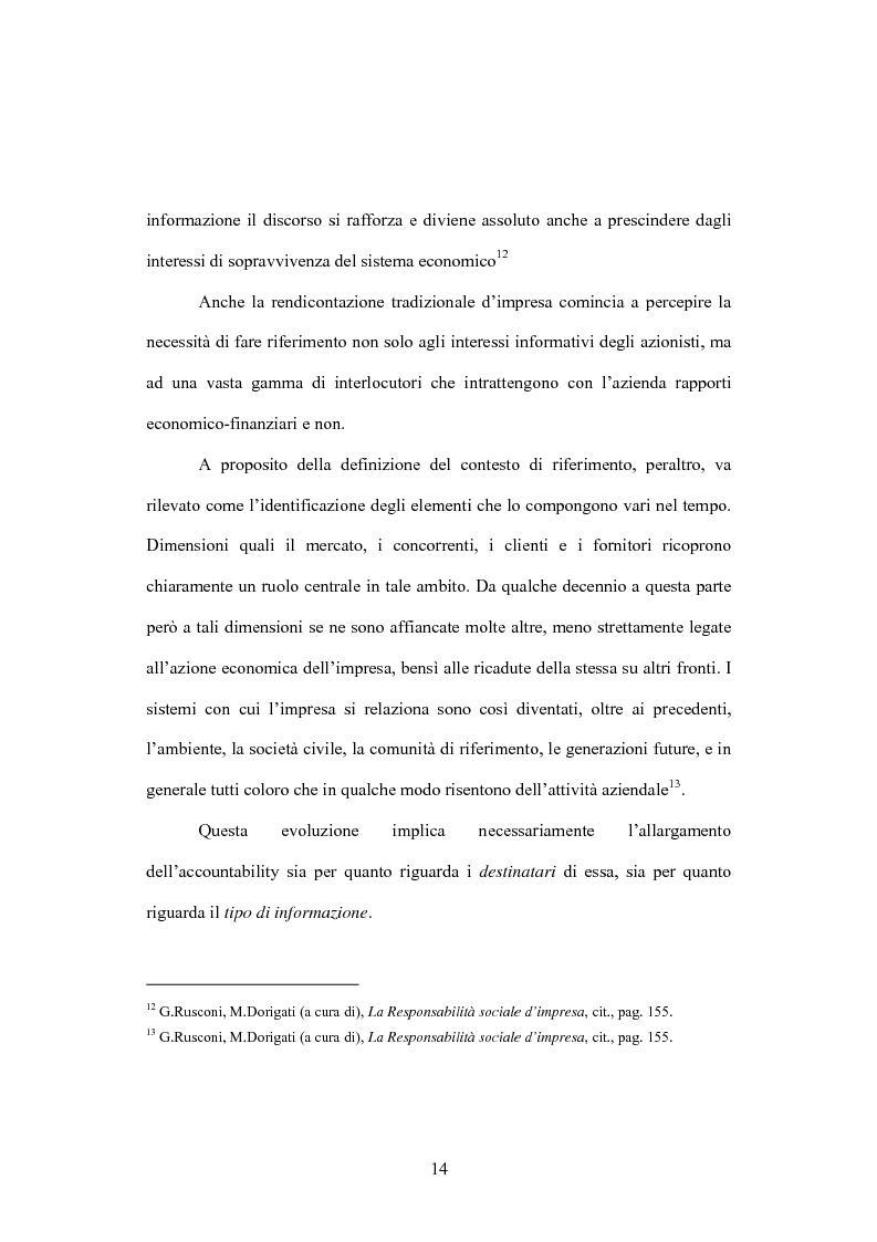 Anteprima della tesi: La comunicazione volontaria nelle società quotate. Aspetti teorici ed evidenze empiriche, Pagina 9
