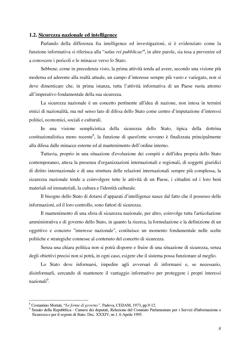 Anteprima della tesi: Intelligence in un mondo multipolare, Pagina 11