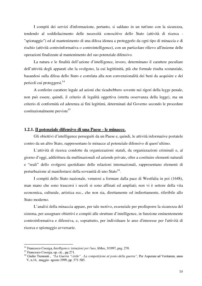Anteprima della tesi: Intelligence in un mondo multipolare, Pagina 13