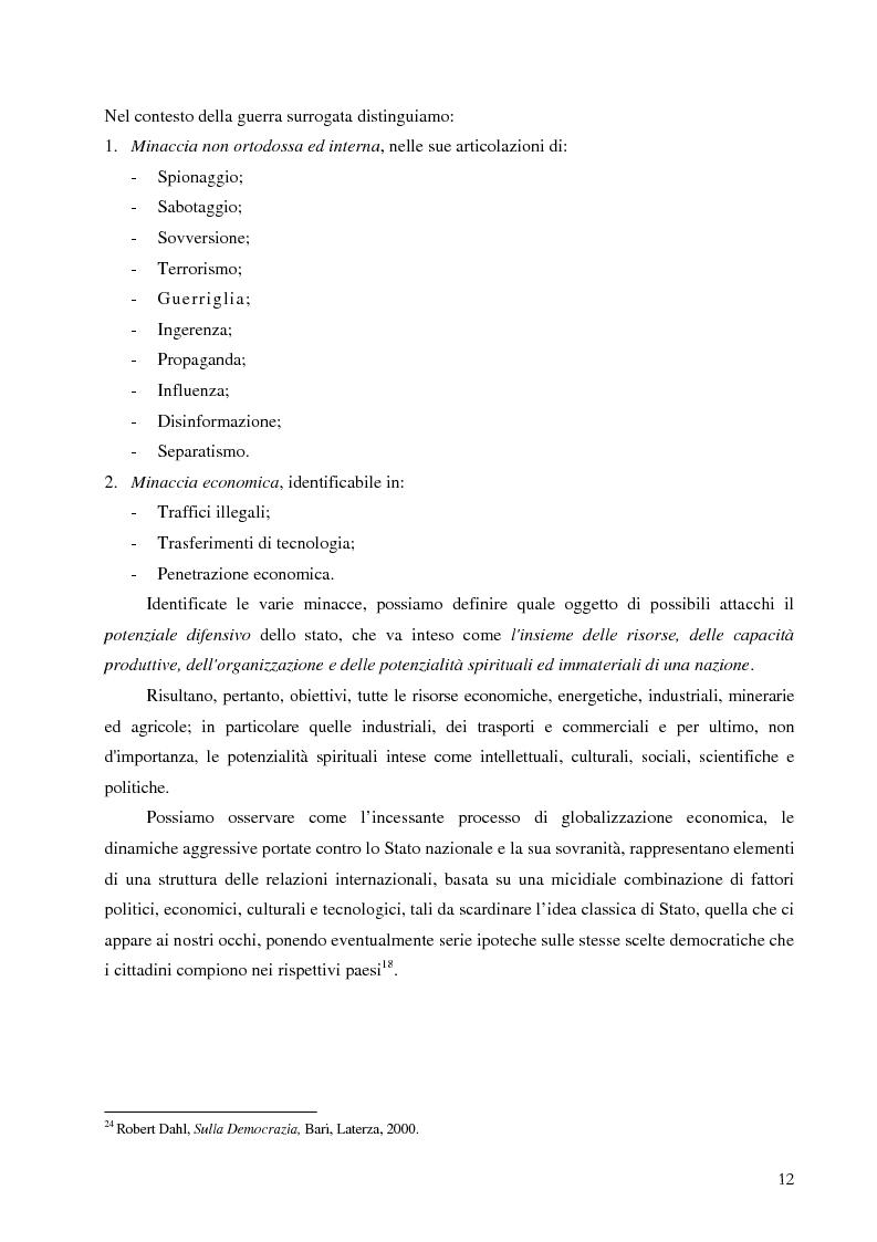 Anteprima della tesi: Intelligence in un mondo multipolare, Pagina 15