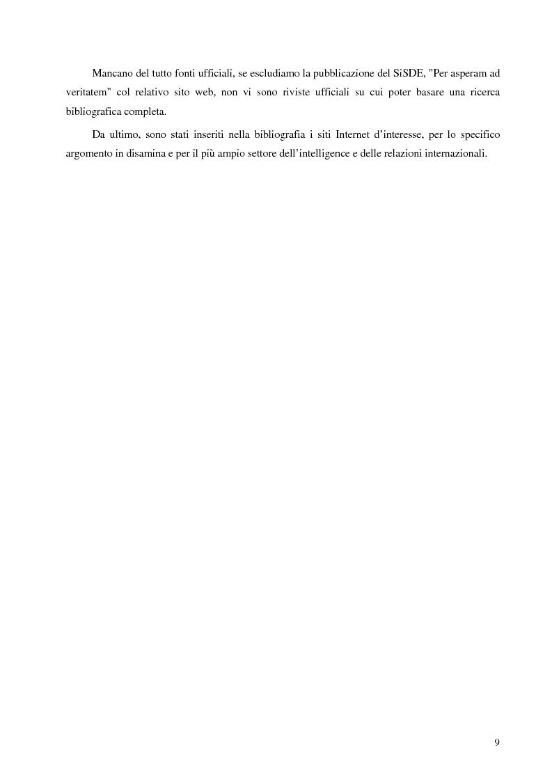 Anteprima della tesi: Intelligence in un mondo multipolare, Pagina 6