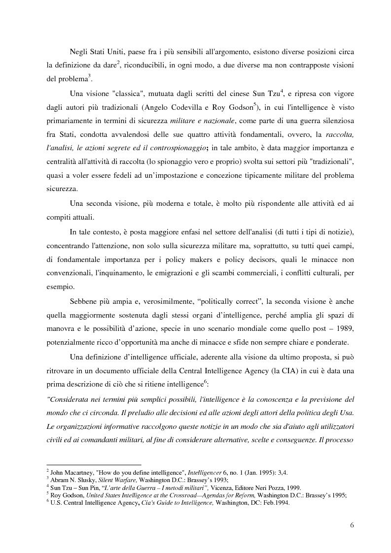 Anteprima della tesi: Intelligence in un mondo multipolare, Pagina 9