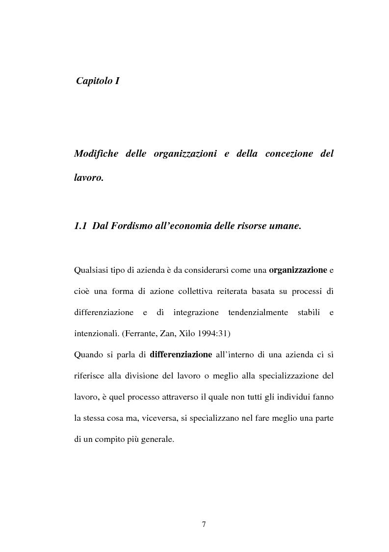 Anteprima della tesi: Una nuova frontiera delle organizzazioni: il capitale intellettuale, Pagina 7