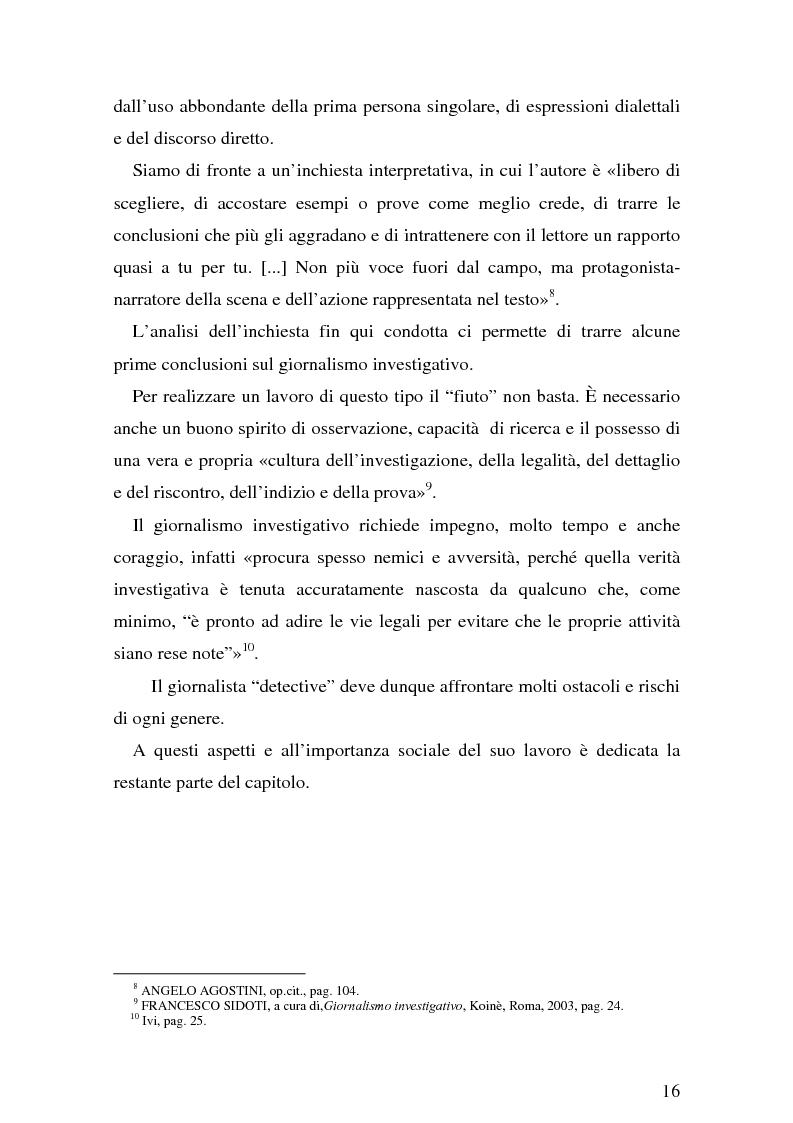 Anteprima della tesi: Il giornalismo investigativo italiano: il caso Alpi-Hrovatin, Pagina 10