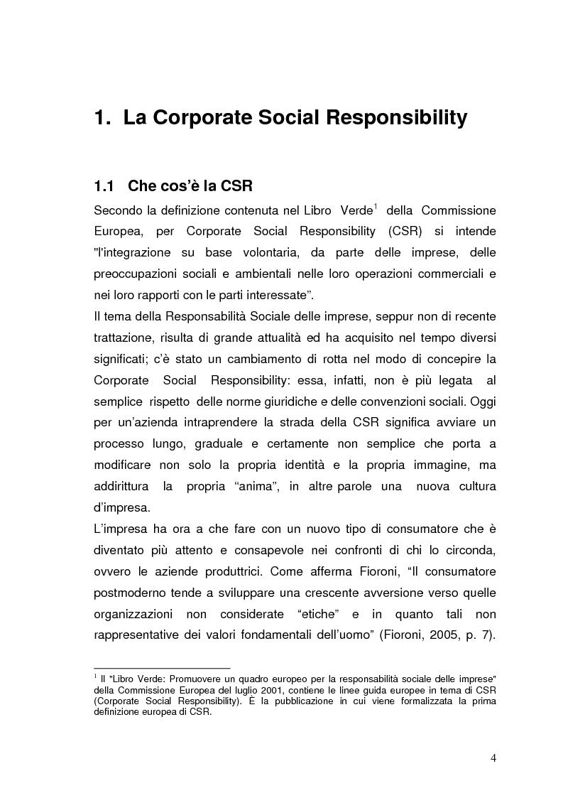 Anteprima della tesi: Product red: grandi brand insieme per un progetto sociale, Pagina 3