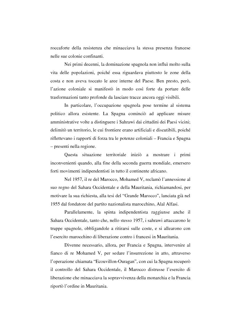 Anteprima della tesi: Il Sahara Occidentale: case study, Pagina 4
