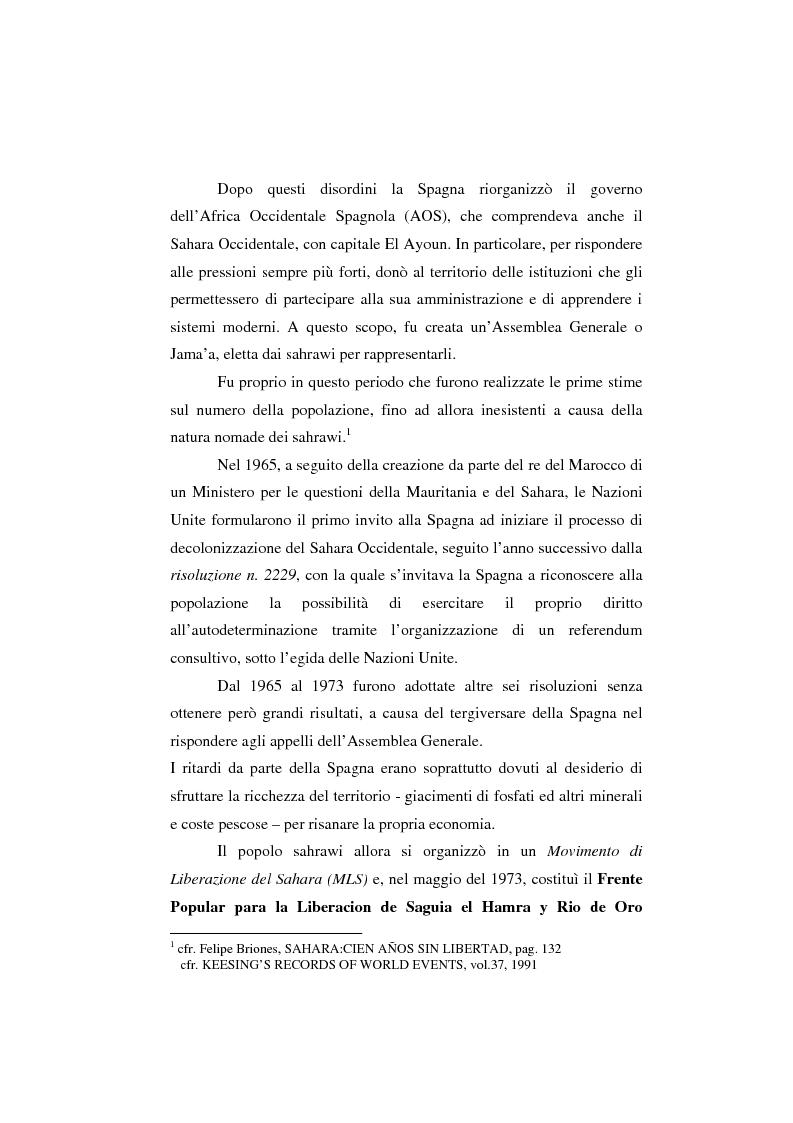 Anteprima della tesi: Il Sahara Occidentale: case study, Pagina 5