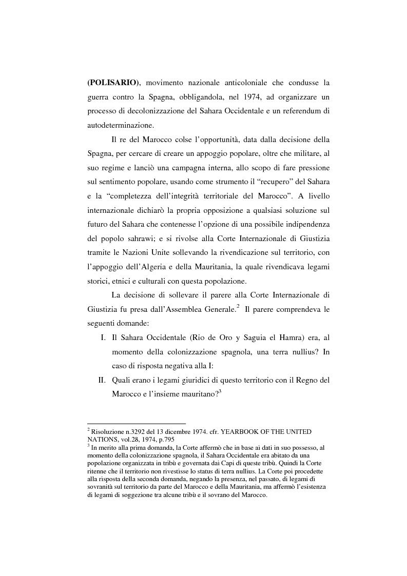 Anteprima della tesi: Il Sahara Occidentale: case study, Pagina 6