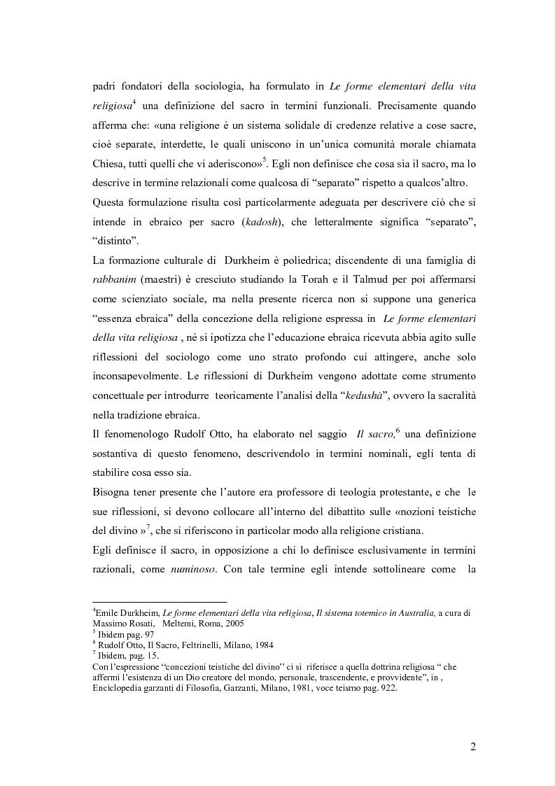 Anteprima della tesi: Il divieto di rappresentazione nell'ebraismo, Pagina 2