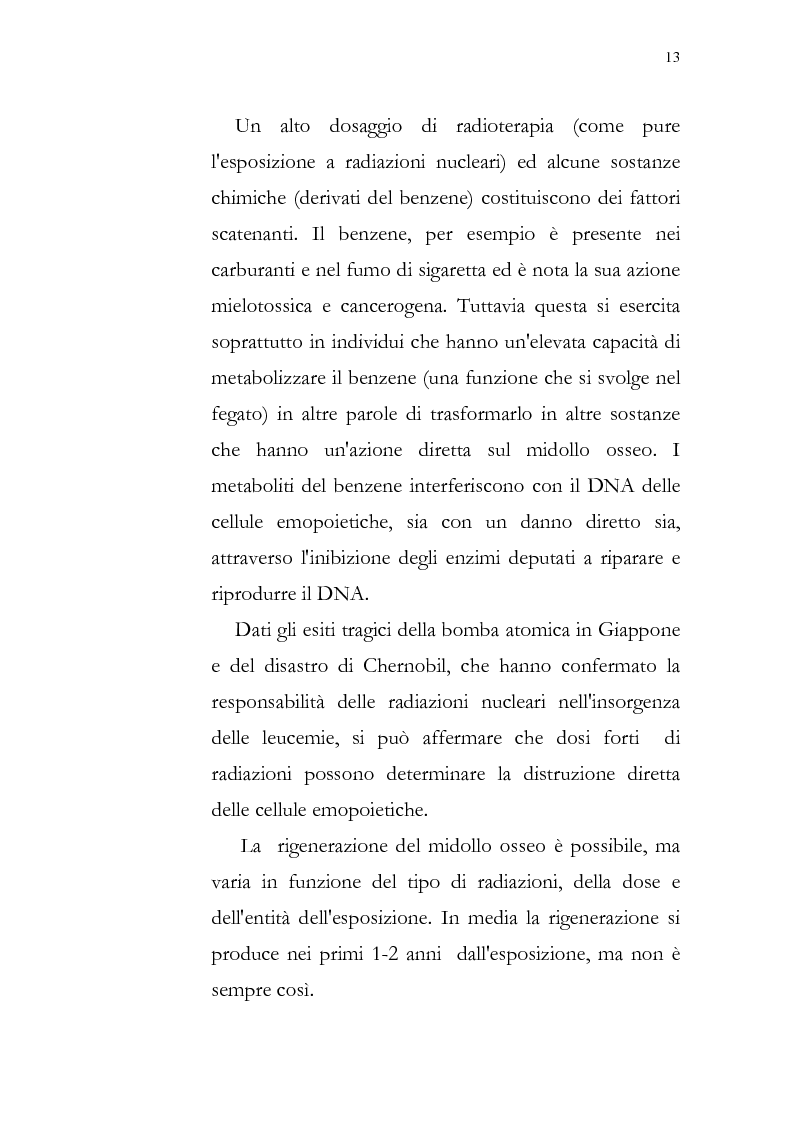 Anteprima della tesi: Aspetti psicologici della leucemia infantile, Pagina 13