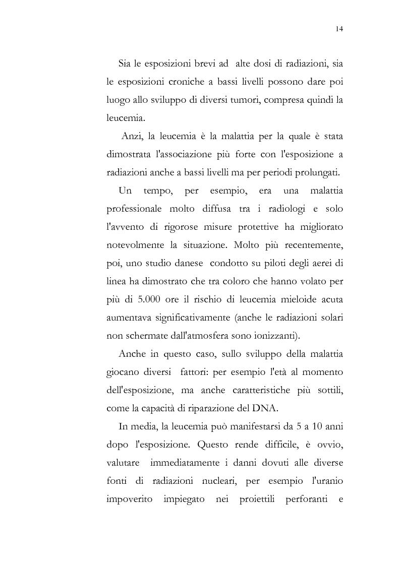 Anteprima della tesi: Aspetti psicologici della leucemia infantile, Pagina 14