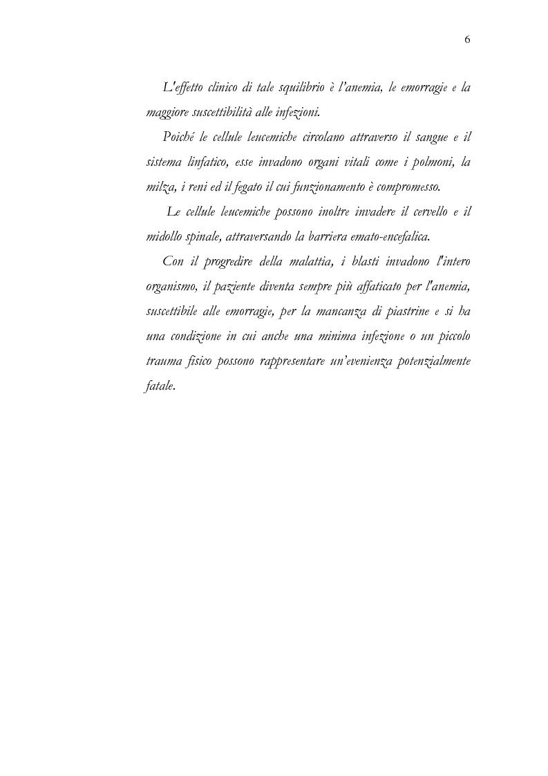 Anteprima della tesi: Aspetti psicologici della leucemia infantile, Pagina 6