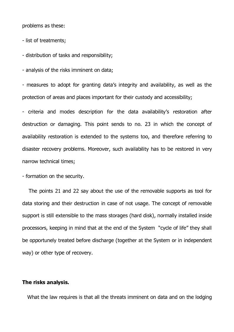 Anteprima della tesi: Preventing and defensive tools of data processing system, Pagina 6
