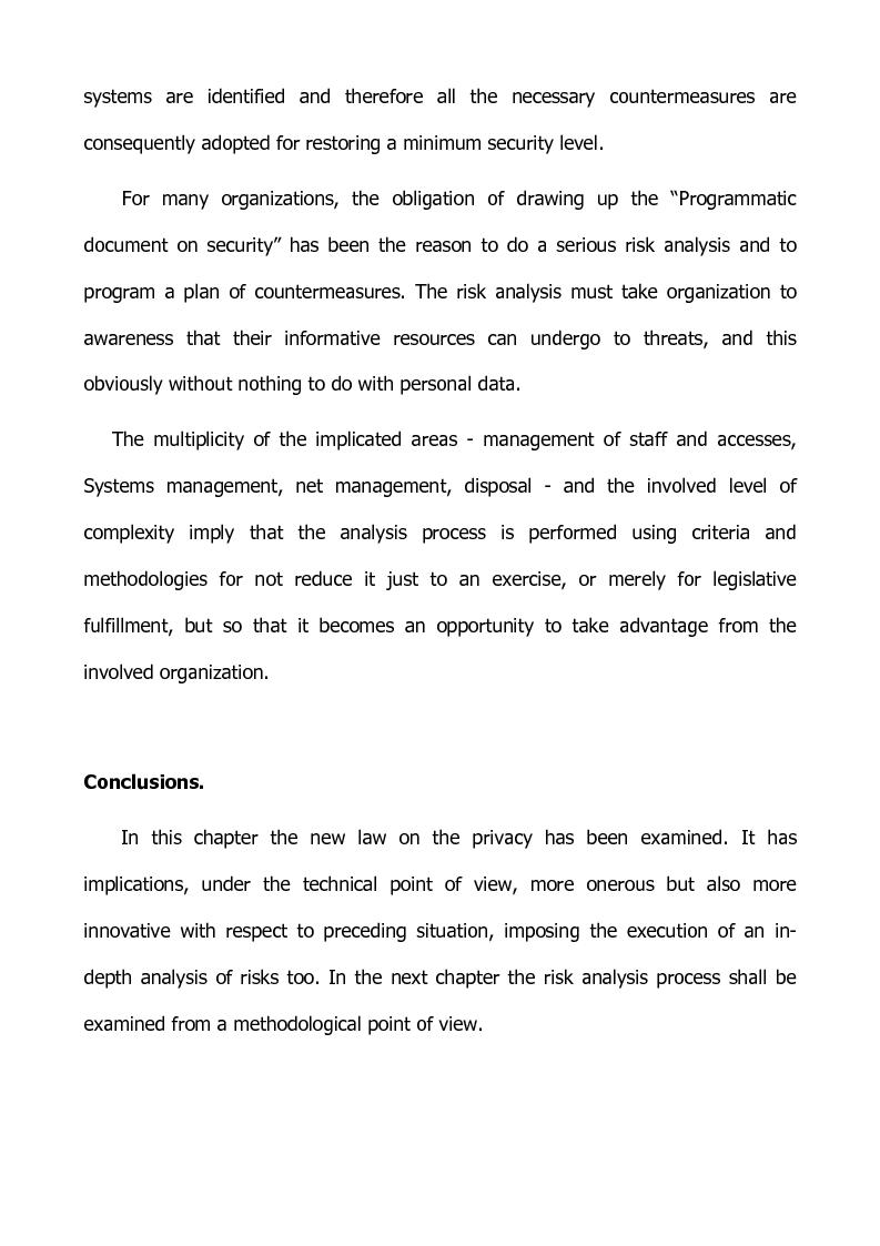 Anteprima della tesi: Preventing and defensive tools of data processing system, Pagina 7