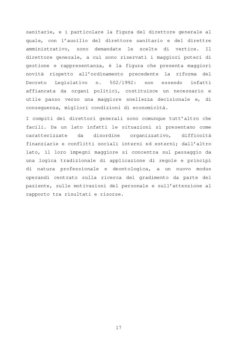 Anteprima della tesi: La comunicazione nella sanità: l'evoluzione dei rapporti tra l'amministrazione e l'utenza, Pagina 11