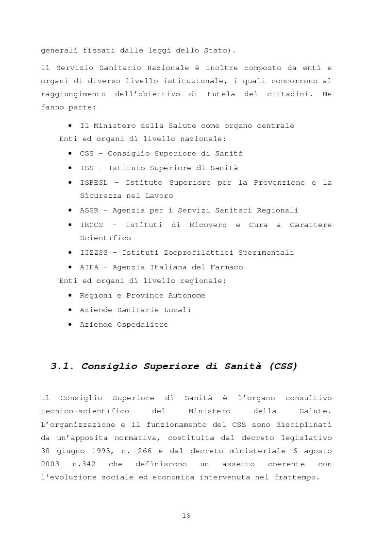 Anteprima della tesi: La comunicazione nella sanità: l'evoluzione dei rapporti tra l'amministrazione e l'utenza, Pagina 13