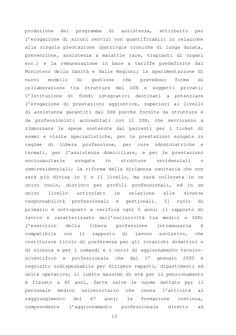 Anteprima della tesi: La comunicazione nella sanità: l'evoluzione dei rapporti tra l'amministrazione e l'utenza, Pagina 7