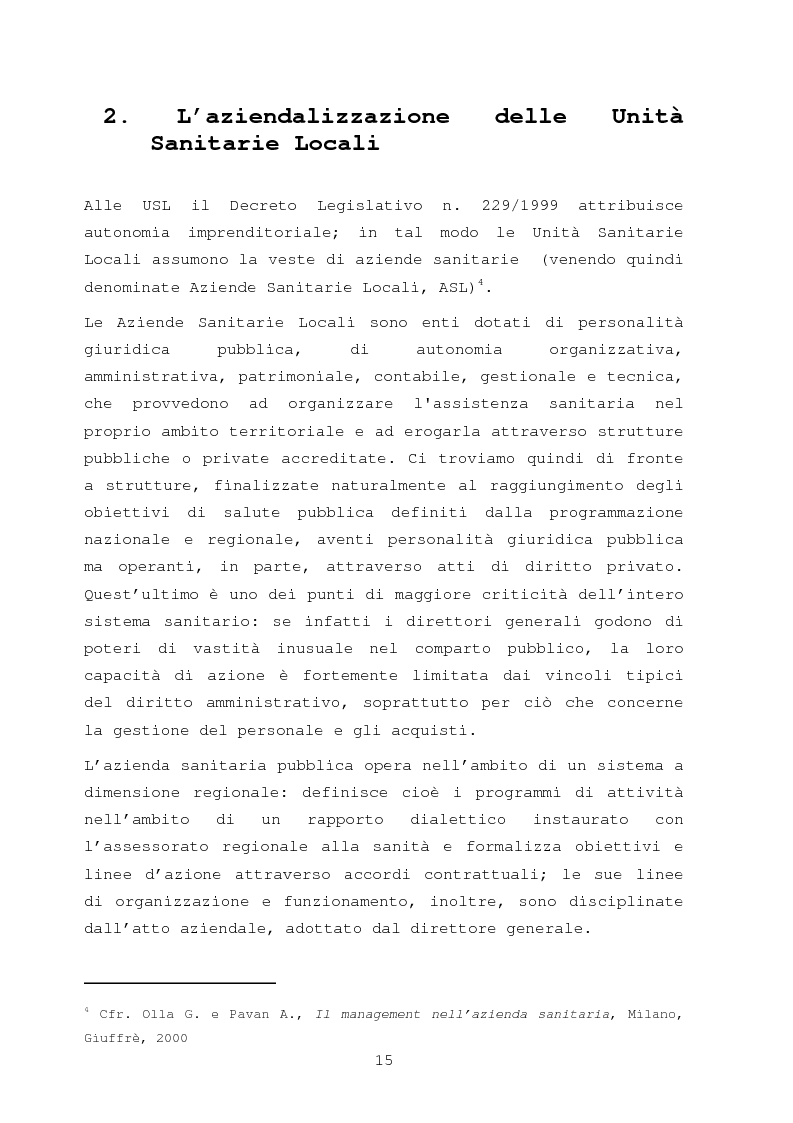 Anteprima della tesi: La comunicazione nella sanità: l'evoluzione dei rapporti tra l'amministrazione e l'utenza, Pagina 9