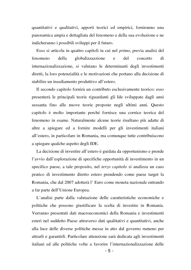 Anteprima della tesi: L'insediamento produttivo all'estero, Pagina 2