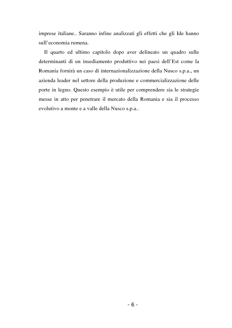 Anteprima della tesi: L'insediamento produttivo all'estero, Pagina 3